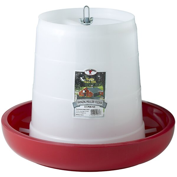 Plastic Hanging Poultry Feeder by Miller Mfg