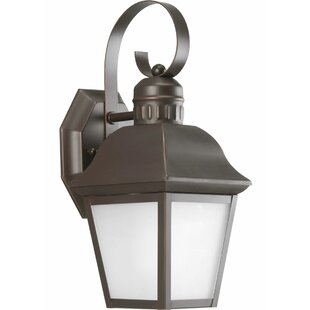 Compare & Buy Thornton 1-Light Outdoor Wall Lantern By Alcott Hill