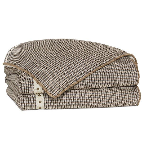 Edward Houndstooth Single Comforter