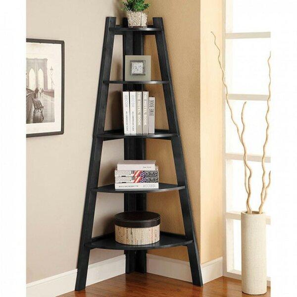 Pabon High Corner Unit Bookcase By Winston Porter