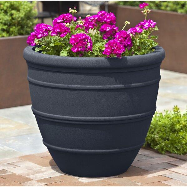 Petterson Fiberglass Clay Composite Pot Planter (Set of 4) by Latitude Run