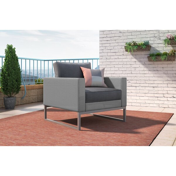 Tropez Patio Chair with Cushion by Elle Decor