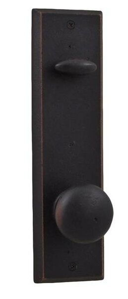 Greystone / Rockford Single Cylinder Entrance Knobset by Weslock