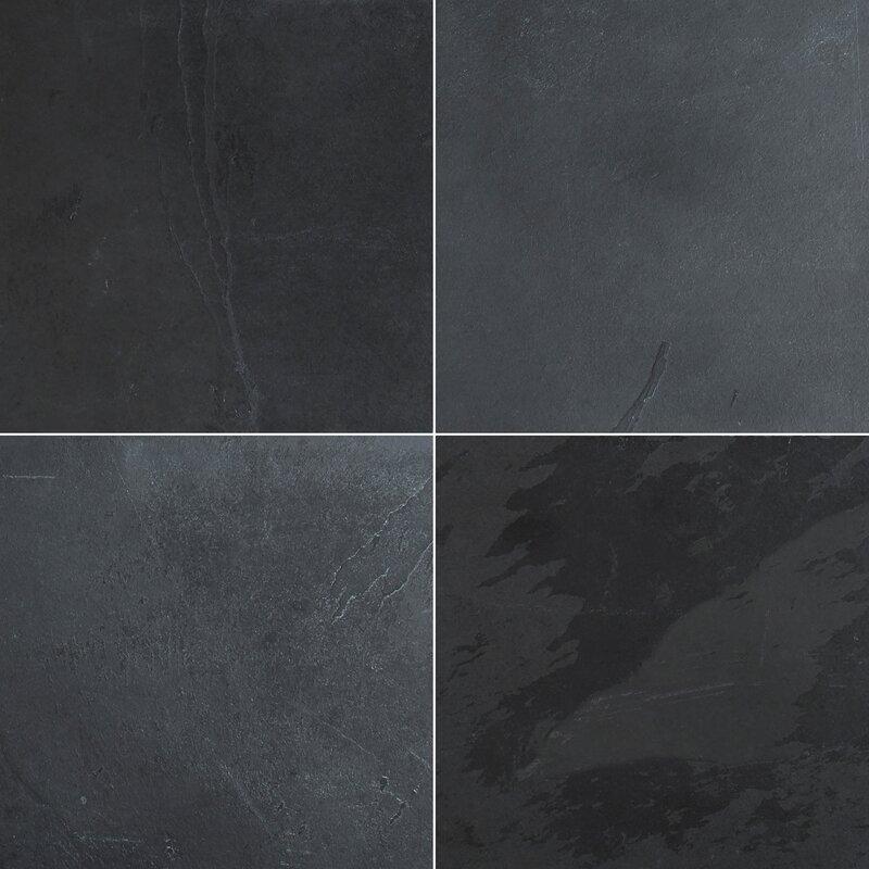 Montauk Honed 12 X Slate Field Tile