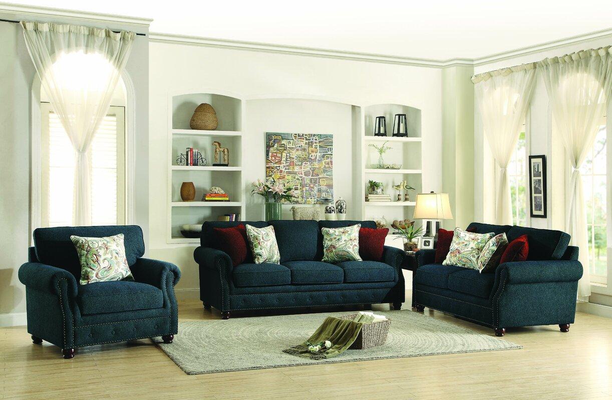 Darby Home Co Hemphill Configurable Living Room Set Reviews