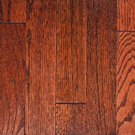 Muirfield 3 Solid Oak Hardwood Flooring in Merlot by Mullican Flooring