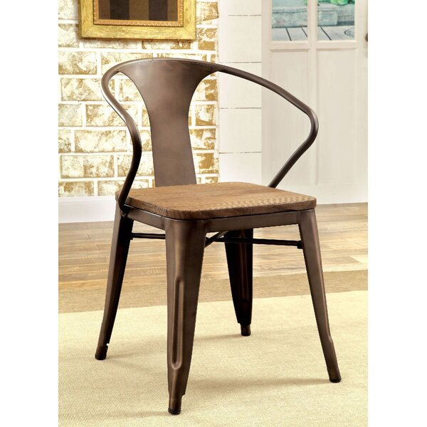Nick Solid Wood Dining Chair (Set of 2) by 17 Stories
