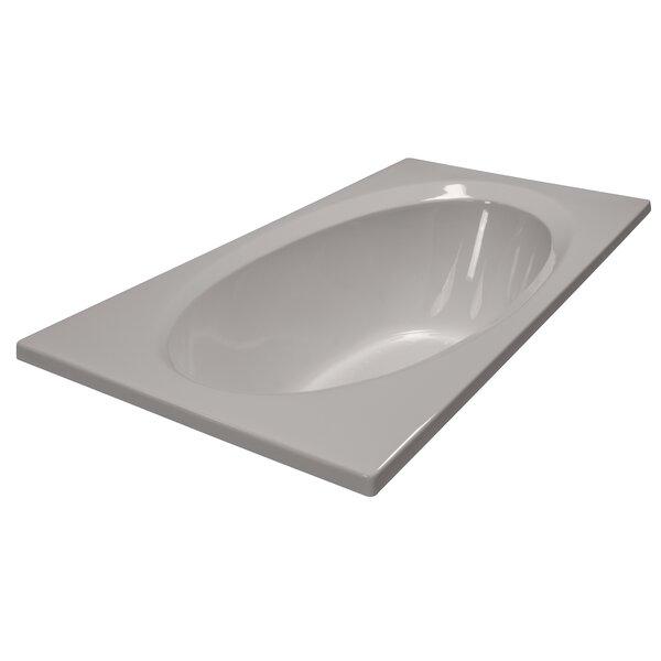 72 x 36 Soaker Bathtub by American Acrylic
