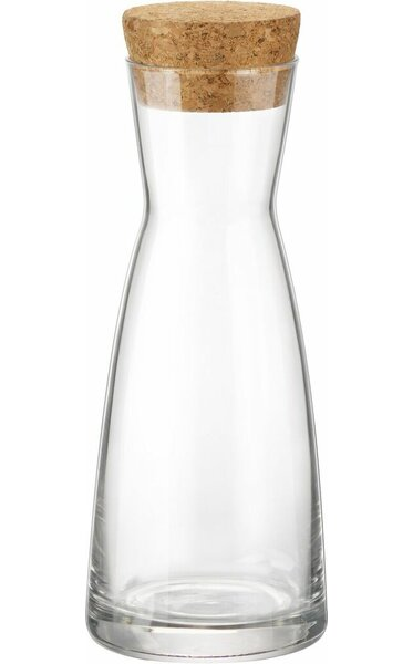 Ypsilon Cork Top 8.45 Oz Carafe (Set of 12) by Bormioli Rocco