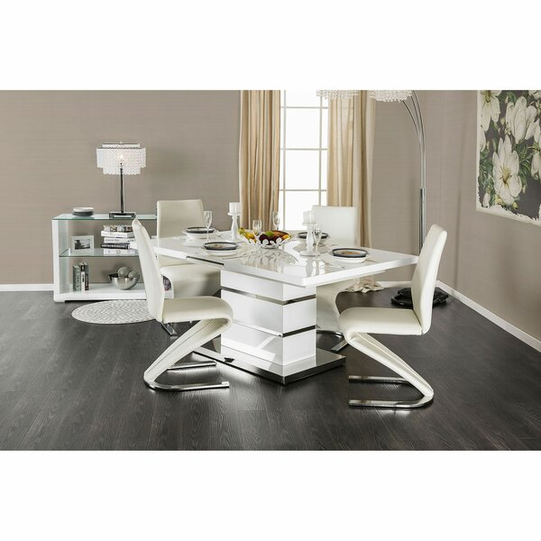 Mattison Merle 5 Piece Extendable Dining Set by Orren Ellis