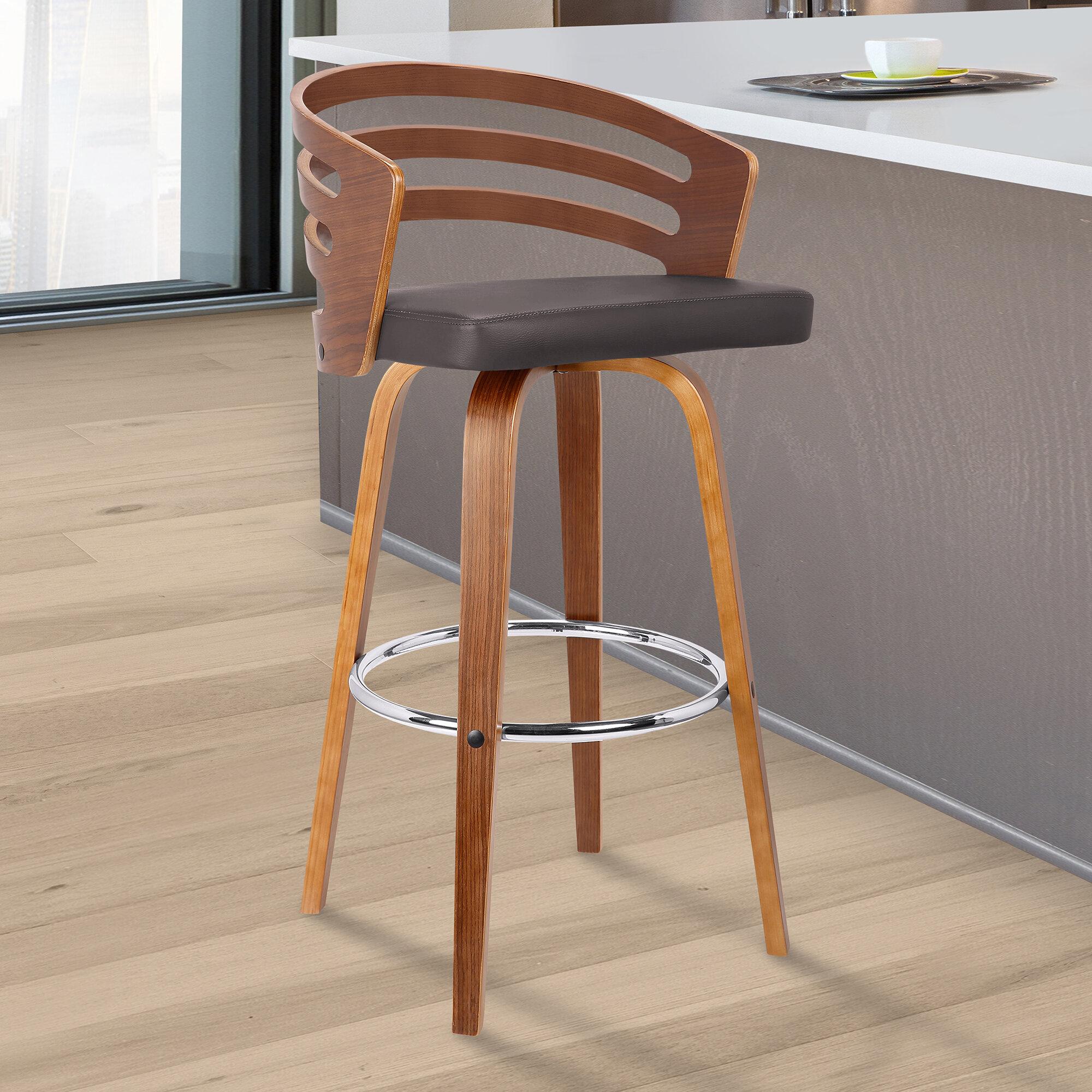 Incredible Wilkes Extra Tall Counter Swivel Stool Uwap Interior Chair Design Uwaporg