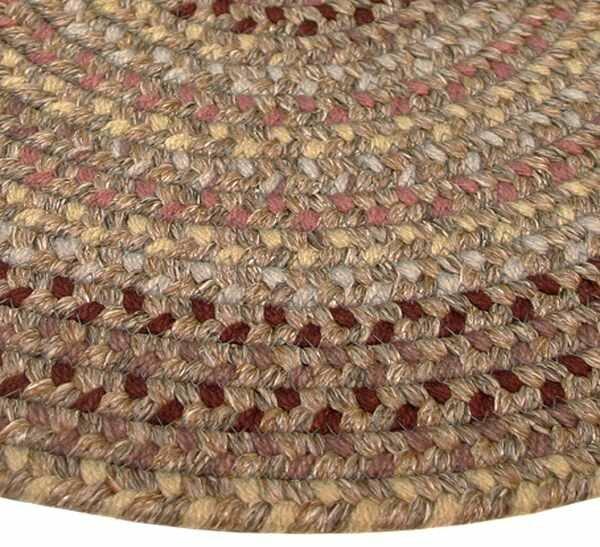 Pioneer Valley II Buckskin Octagon Rug by Thorndike Mills