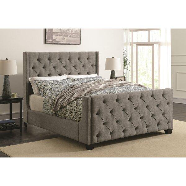 Lattin Coaster Upholstered Standard Bed by Alcott Hill