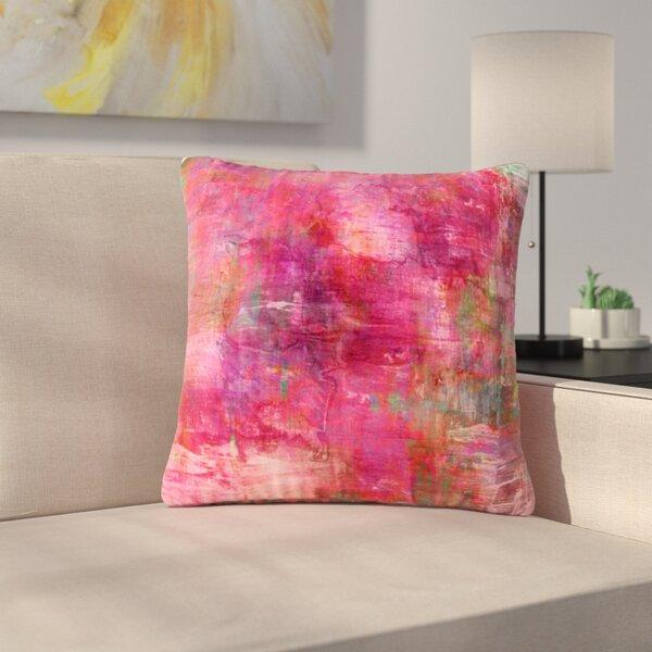 Ebi Emporium Into the Tropics Love Outdoor Throw Pillow by East Urban Home