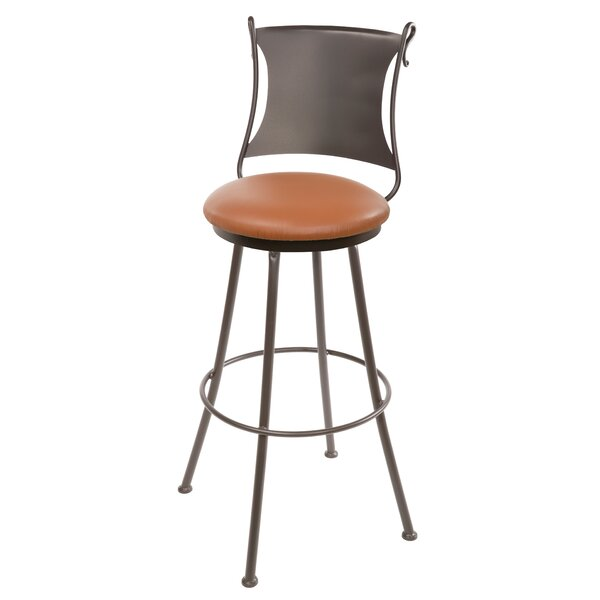Chittum 30 Swivel Bar Stool by Fleur De Lis Living