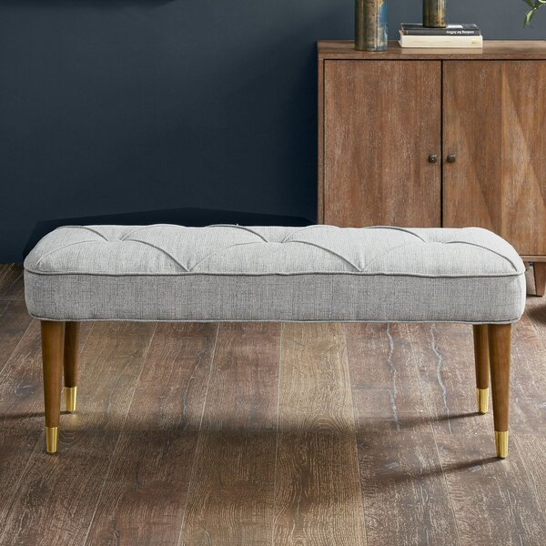 Marvin Upholstered Bench by George Oliver