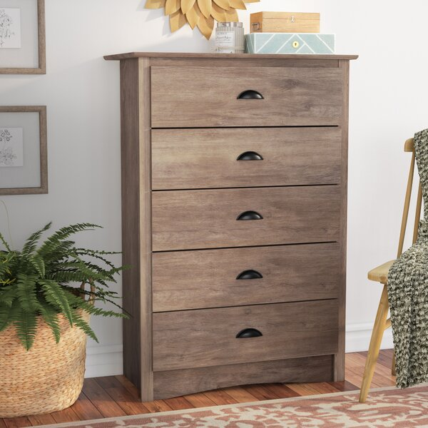 #1 Nelda 5 Drawer Chest By Laurel Foundry Modern Farmhouse Coupon