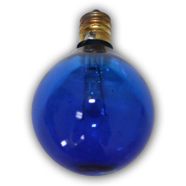 5W Blue E12 Incandescent Vintage Filament Light Bulb by Aspen Brands