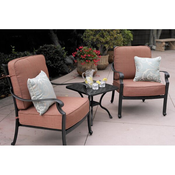 Mccraney 3 Piece Conversation Set with Cushions by Astoria Grand