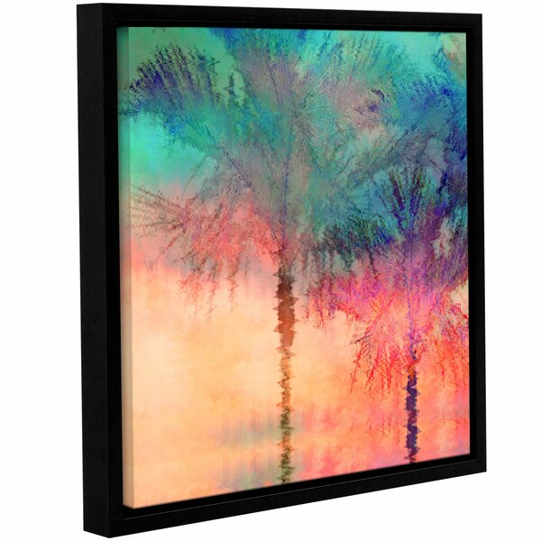 Palmae Square Framed Painting Print by Bay Isle Home