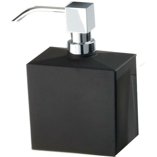 Sipes Frosted Glass Pump Soap and Lotion Dispenser by Orren Ellis