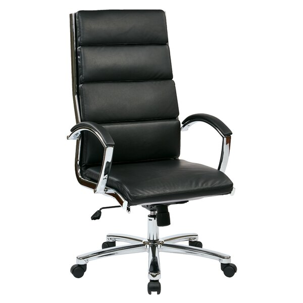 Dickert High-Back Executive Chair by Wade Logan