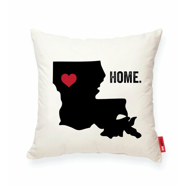 Pettry Louisiana Cotton Throw Pillow by Wrought Studio