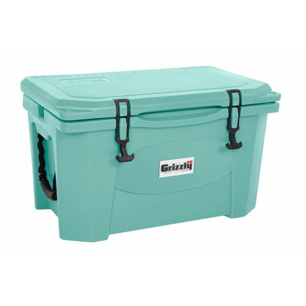 40 Qt. RotoMolded Cooler by Grizzly Coolers