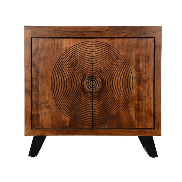 Spiral 2 Door Accent Cabinet by World Menagerie World Menagerie