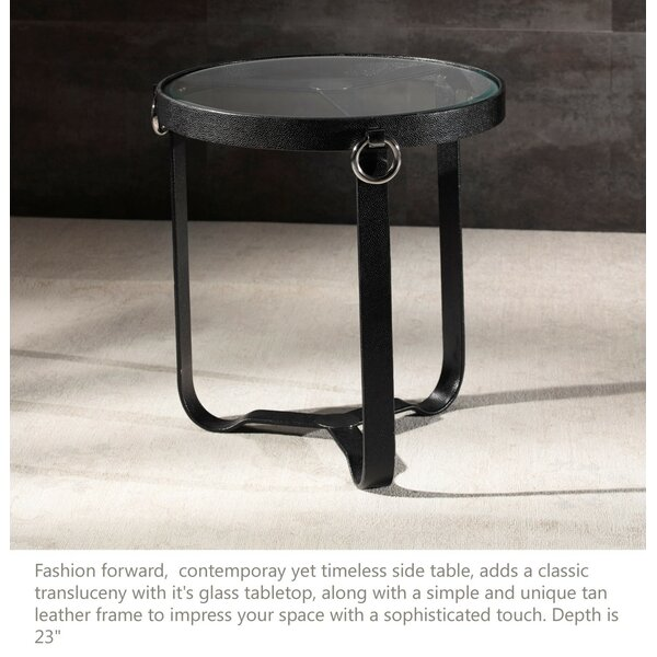 Irons End Table by Brayden Studio