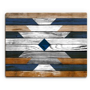 'Bleached Southwestern Pattern' Graphic Art on Plaque by Click Wall Art