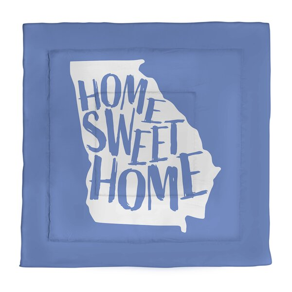 Georgia Home Sweet Single Reversible Comforter