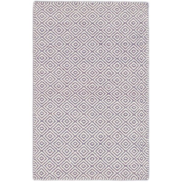 Rosemarie Wool Cream/Light Purple Area Rug by Gracie Oaks