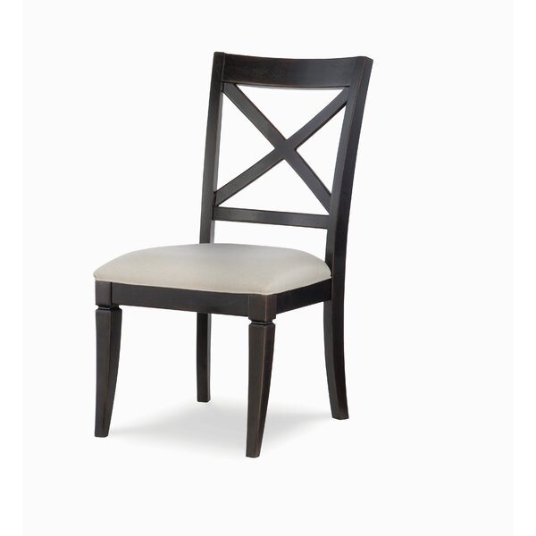 Everyday Dining Upholstered Cross Back Side Chair (Set of 2) by Rachael Ray Home Rachael Ray Home