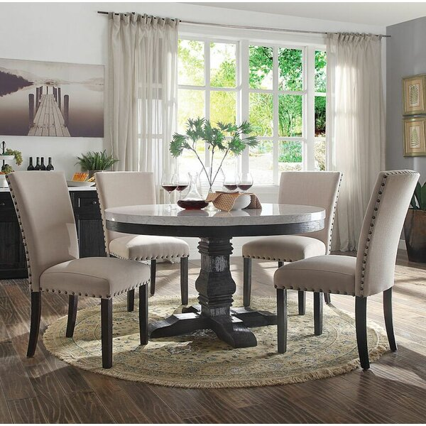 Demopolis 5 Pieces Dining Set by Gracie Oaks