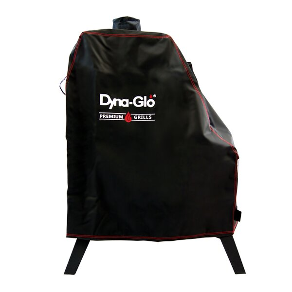 Premium Vertical Offset Smoker Cover - Fits up to 35 by Dyna-Glo