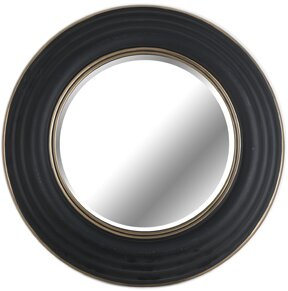 Pond Round Beveled Accent Mirror by World Menagerie