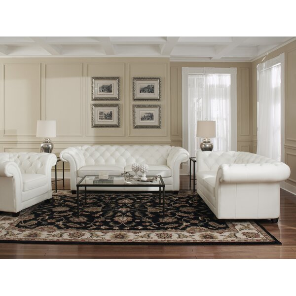 Configurable Living Room Set by Lazzaro Leather