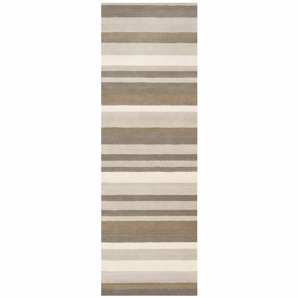 Madison Square Brindle Brown & Tan Area Rug by angelo:HOME