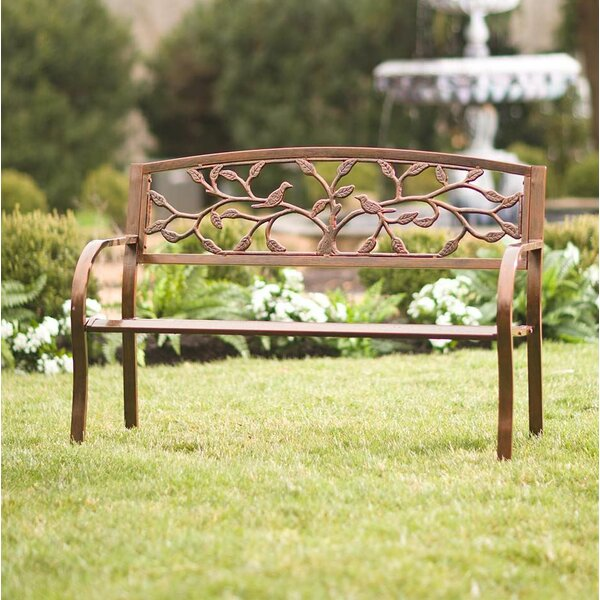 Tree of Life Metal Garden Bench by Wind & Weather