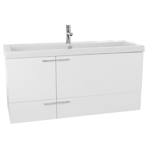 New Space 47 Single Bathroom Vanity Set by Nameeks Vanities
