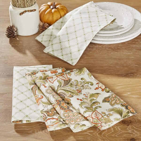 Tenby Reversible Napkins (Set of 6) by Birch Lane™