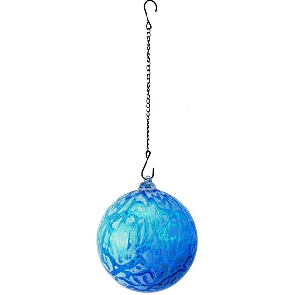 Hanging Ice Glass Gazing Globe by VCS