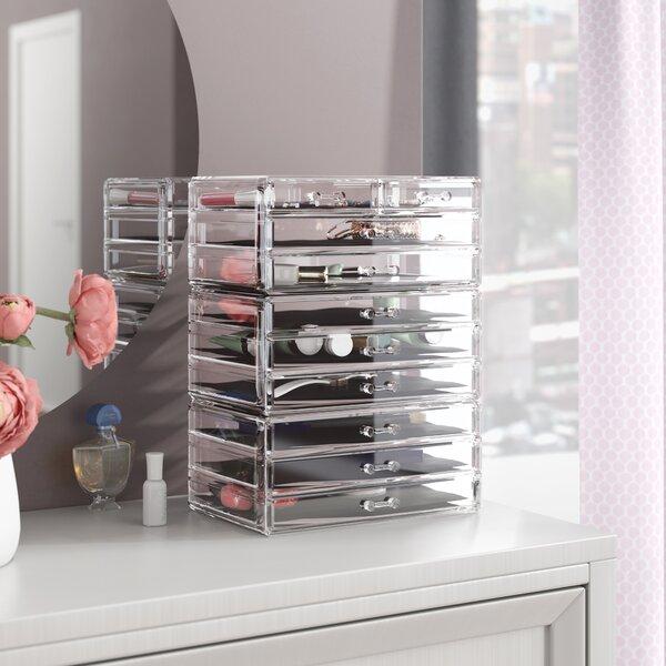 3 Piece Cosmetic Organizer Set by Rebrilliant