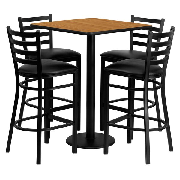 Akriti 5 Piece Pub Table Set by Red Barrel Studio