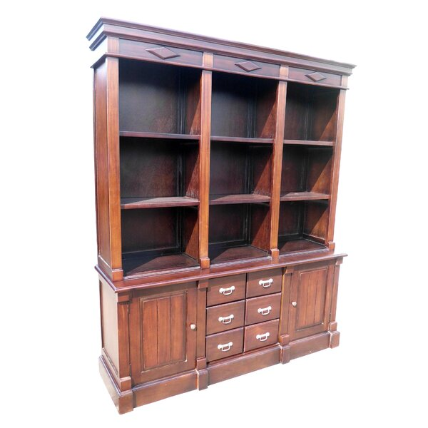 Open Front Oversized Set Bookcase by D-Art Collection