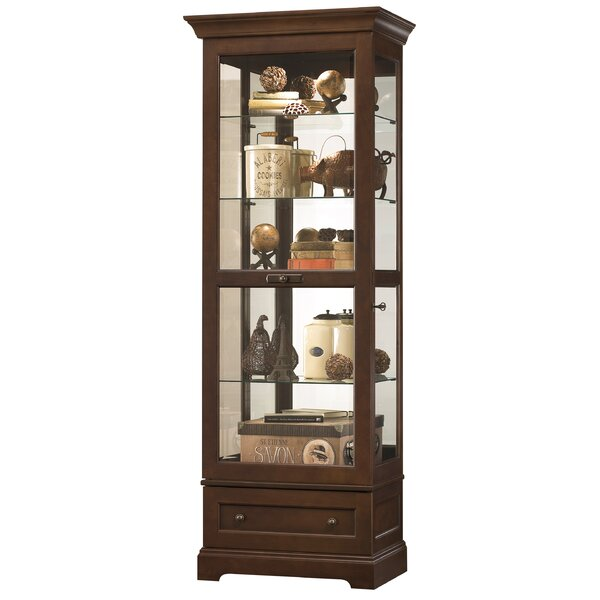 Brink Curio Cabinet by Darby Home Co