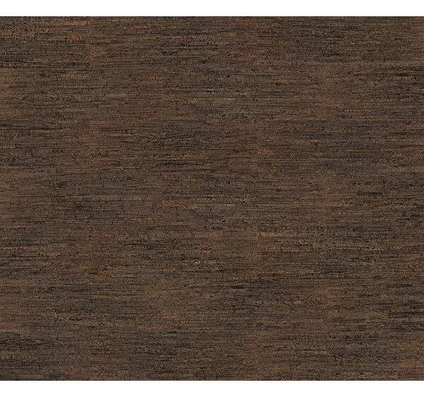 Cork Essence 11-7/11 Cork Flooring in Tweedy Wood Coffee by Wicanders