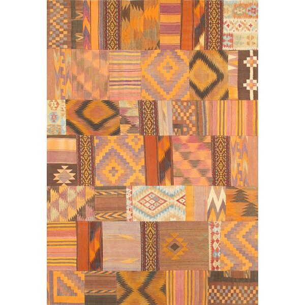Patchwork Hand-Knotted Area Rug by Pasargad