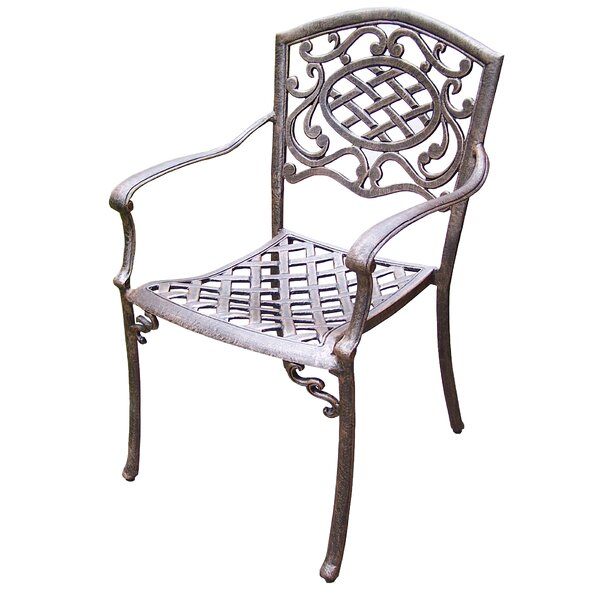 Mcgrady Stacking Patio Dining Chair (Set of 4) by Astoria Grand